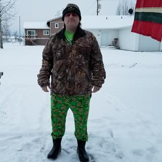 Camo side out at 11 degrees. This way works best on a cool day, say 50 degrees or so.