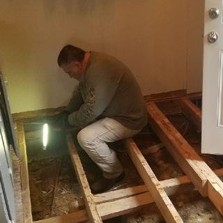 Redoing Lake House Floors.