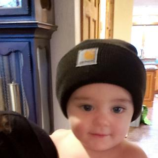 Such a great hat for all ages everyone in the family has a carhartt hat for fall/winter