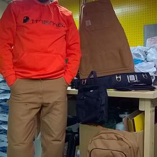 New hoodie and more Carhartt gear.