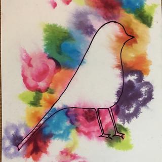 Bird in paradise.
