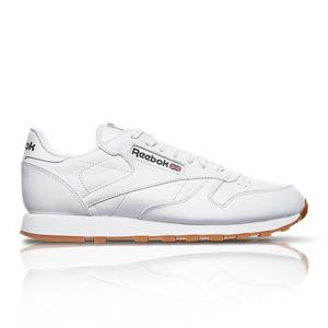 540e5bc2 Reebok Men's Classic Leather White Sneaker