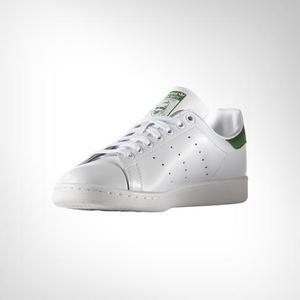 newest f057c e3e93 About  Men s Adidas Stan Smith White Green Shoe