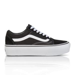 c49c6dccdef1 Vans Women s Old Skool Platform Black White Sneaker
