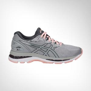 best website 3d6d1 59bff Women's Asics Gel Nimbus 20 Grey/Peach Shoe
