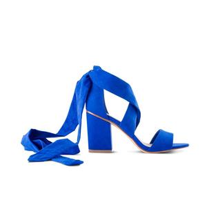 e4d1b3adead Midi Block Heel Ankle Tie Sandal