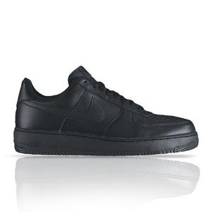 big sale c6018 aa211 About NIKE MENS AIR FORCE 1 LOW 07 Black Sneaker