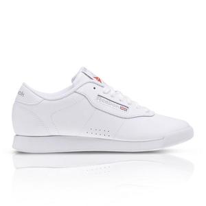 bcd53a013eb1 About  Reebok Women s Princess White Sneaker
