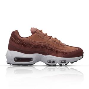 sale retailer e1b54 6b02c Nike Women's Air Max 95 Premium Orange Sneaker