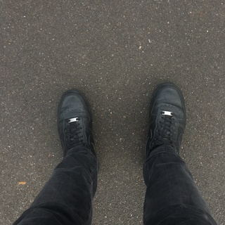 Nike AF1 Triple Black